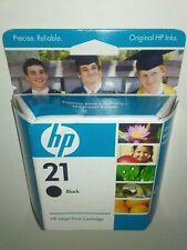 New Genuine Original HP 21 Black Ink Cartridge C9351AN Inkjet Deskjet Officejet