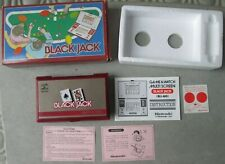 NINTENDO GAME AND & WATCH Black Jack Complete in Box NEW OLD STOCK !!! Tested