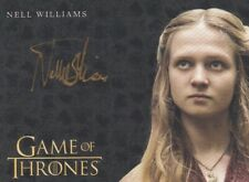 Game of Thrones Season 8 Autograph Card signed by Nell Williams