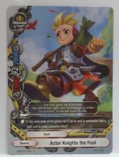 Bushiroad Future Card Buddyfight Actor Knights the Fool BT02/0101EN C Near Mint