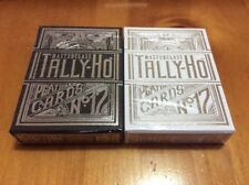 Tally-Ho Masterclass (Black And White) Playing Cards Kickstarter Limited