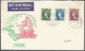 TANGIER FDC 1954