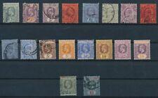 Strait Settlements (1902-1921) **(18) EDWARD VII & GEORGE V ISSUES**; CV $47
