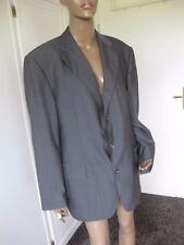 Windsor  tolles  Sakko / Jacket  - Gr. 27  -  grau mit Nadelstreifen Schurwolle