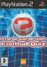 PLAYSTATION 2 THE GREAT BRITISH FOOTBALL QUIZ PS2 GAME