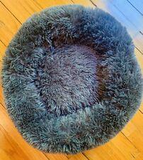 Dog / Cat / Pet Bed Donut Plush Faux Fur Cuddler Round Comfortable Small/Medium