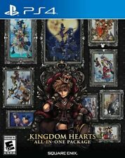 KINGDOM HEARTS All-in-One Package for PlayStation 4 [New Video Game] PS 4