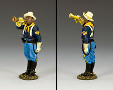 King & Country 10th Cavalry Bugler TRW117 The Buffalo Soldiers