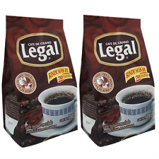 Cafe Legal Roasted Ground Coffee 7 ounces (Pack od 2) Blend With Caramelized Sug