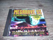 Megarave 93 - 20 Tracks From The Radioactive Zone * Hardcore CD Holland 1993 *