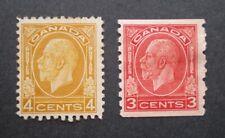 1932 King George V medallion issue Scott #198-207 - Mint Hinged