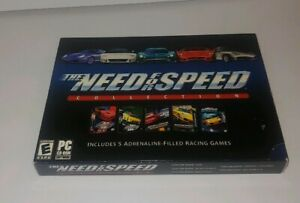 The Need For Speed Collection (2003) EA II SE, III, High Stakes, PC COMPLETE!