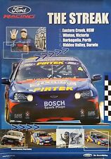 V8 Supercars Ford Racing Dealer Poster *The Streak* Marcos Ambrose 2003 **Rare**
