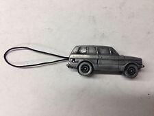 Range Rover 2 Door ref196 3D car pewter effect moblie phone charm