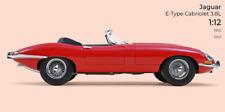 Jaguar E-Type cabriolet 1962 Rosso Cabrio Spider Norev 1:12 🤩🤩