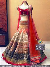 Bollywood Lehenga Choli Indian Party Wear Lengha Pakistani Wedding Lehenga Choli