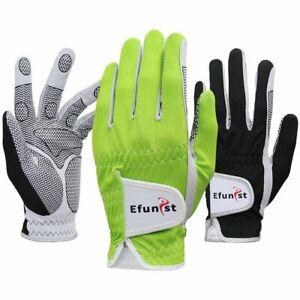 Men Golf Gloves 1 PC Mesh Non Slip Glove For Left Hand Breathable Micro Fiber