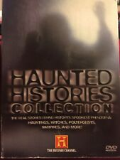 History Channel HAUNTED HISTORIES COLLECTION DVD 5 discs