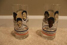 1984 Detroit Tigers Championship Glasses Little Ceasars (set of 2) Brand New!