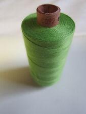 (0,98 €/100 m)   1 Rolle 500 m Nähgarn Stärke 50 Farbe Grün Amann / Saba  (0092