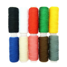 Filati colorati in poliestere da 10 Yards / Roll per macchine da cucire