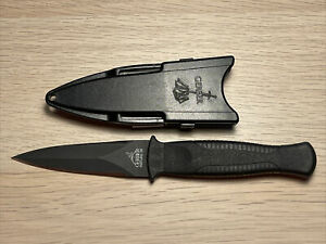Gerber Guardian Back-up Fixed Blade Boot Knife Double Edge USA Rare Vintage