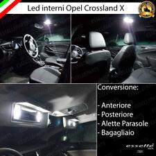 KIT LED INTERNI ABITACOLO OPEL CROSSLAND X CONVERSIONE COMPLETA CANBUS 6000K