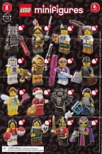 LEGO MINIFIGURE SERIES 8 CHECKLIST