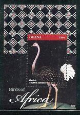 Ghana 2702-2703, Mnh, 2012, Birds of Africa: Common Ostrich, Bee-eater x19796