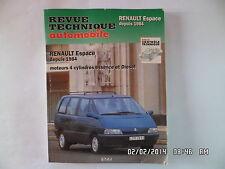 RTA RENAULT ESPACE DEPUIS 1984 moteurs 4 cylindres essence et diesel    F22