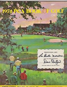1974 PGA BOOK OF GOLF