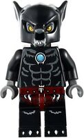 LEGO LEGENDS OF CHIMA WILHURT MINIFIGURE BLACK WOLF 70009 70013  new
