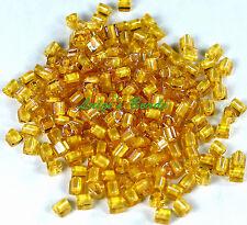K102//8 Kheops ® par Puca ® 2 agujero Semilla Cuentas Brillo Opaco Luz Rosa 6 mm 9g