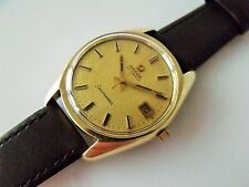 Gent's Vintage Grande dimensione gold capped CAL.565 OMEGA SEAMASTER AUTOMATICO