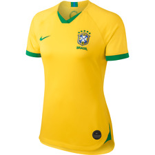 NIKE BRAZIL WOMEN'S HOME JERSEY Slim Fit  FIFA WORLD CUP 2019 Size XS NWT
