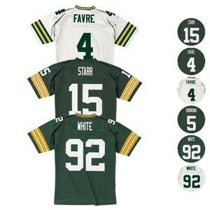 Green Bay Packers NFL Mitchell & Ness Home/Road Legacy Jersey Collection Men's