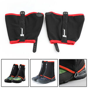 Waterproof Low Trail Leg Gaiters Ankle Protection Anti-Tear Shoes Covers AU