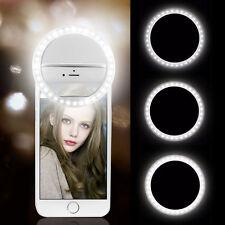 Selfie Flash Light LED Ring Blitz Licht Samsung Galaxy S9 S9 Plus A8 Note 8 J3