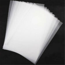 100x A4 Tracing Paper Translucent Hobby Craft Copying Calligraphy Drawing Sheet