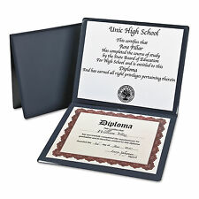 Oxford Diploma Cover 12 1/2 x 10 1/2 Navy 44212