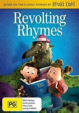 Revolting Rhymes DVD NEW Region 4 Roald Dahl Little Red Riding Hood