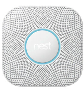 Google Nest Protect 2nd Generation Wired Smoke/CO Detector (A01)