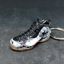 new concept c0019 54278 AIR FOAMPOSITE ONE PRO PRM FIGHTER JET CAMO 3D SNEAKER KEYCHAIN SHOE FIGURE  1 6