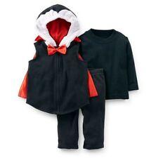 Carter's Kostüm 62/68 Baby DRACULA 3 tlg warm Fleece Karneval Fasching Junge USA