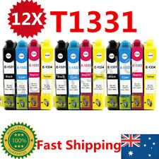 12x T133 T1331-1334 Ink Cartridge For Epson NX 125 130 230 420 430 WF320 325 435
