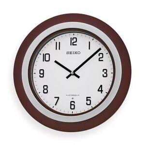 "BRAND NEW Seiko 11-1/2"" Easton Musical Clock QXM547BLH"