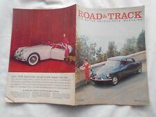 ROAD & TRACK  Magazine- JUNE,1958-SEBRING '58