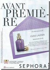 Publicité Advertising 2012 - ESTEE LAUDER -  (Advertising paper)