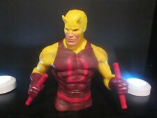 DAREDEVIL BUST BANK MARVEL LEGENDS PX YELLOW VERSION collectors choice, Nice