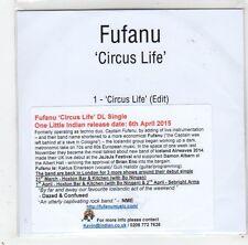 (GC811) Fufanu, Circus Life - 2015 DJ CD